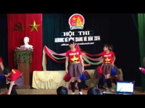 Giải nhất hội thi Aerobic xã Hồng Quang hè 2014