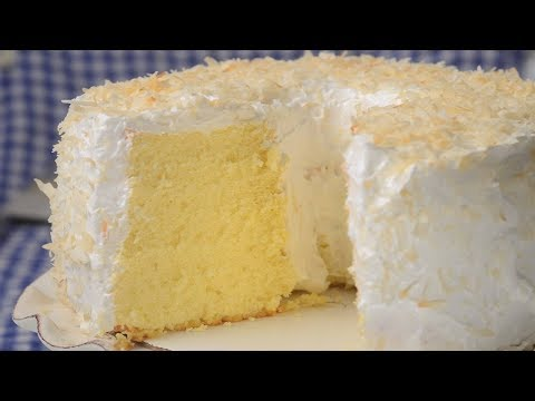 Golden Chiffon Cake Recipe Demonstration - Joyofbaking.com