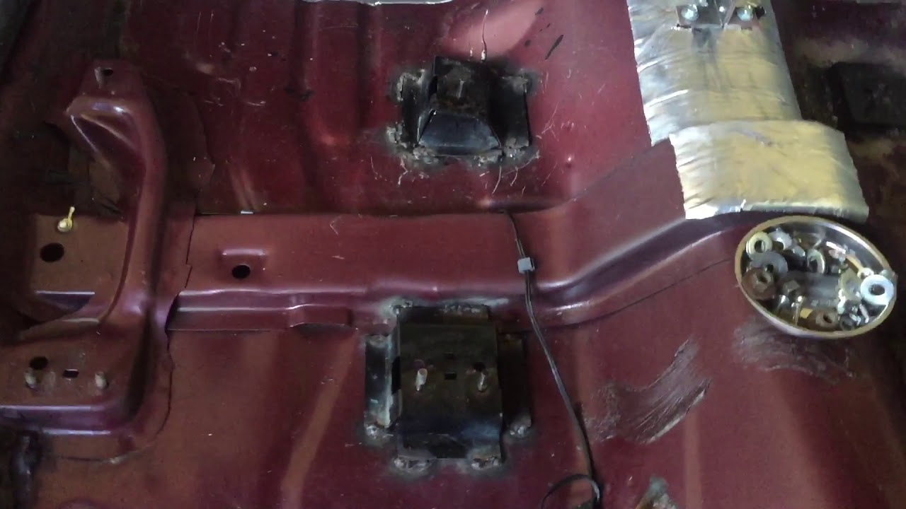 Installing bucket seats in a G Body Malibu
