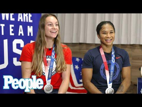 "Grace McCallum & Jordan Chiles Recall ""Heartbreaking"" Moment Simone Biles Exited Team Final   PEOPLE"