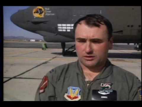 Aircraft Maintenance and Regeneration Center AMARC Tucson AZ (B-52G arrivals)