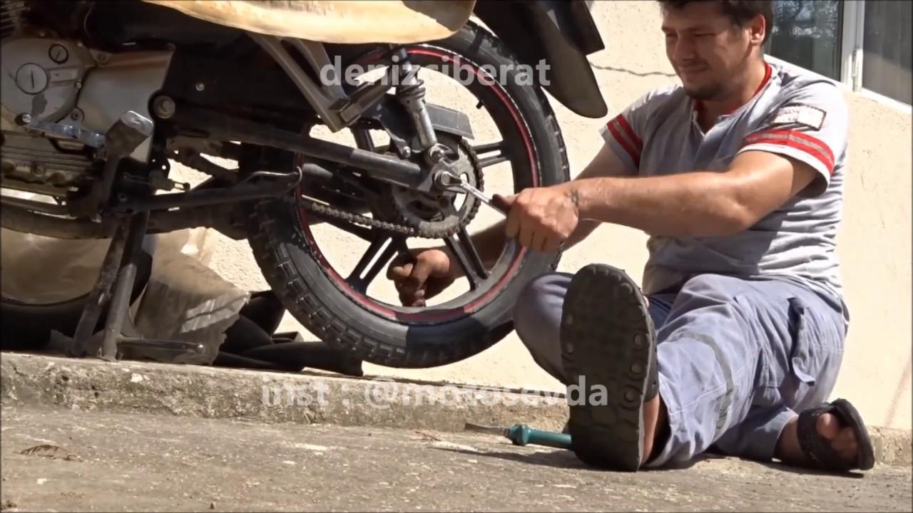 Motosiklet Teker Rulmanları Nasıl Değiştirilir. Rulman Çıkartma ve Montaj. Honda CBF 150
