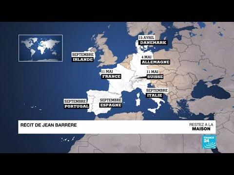 Pandémie de coronavirus: L'Europe face au défi du déconfinement