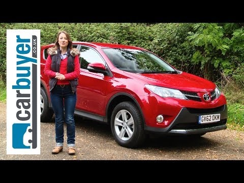 Toyota RAV4 SUV 2013 review CarBuyer