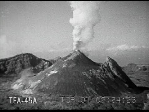 Eruption Of Mt Vesuvius 1944