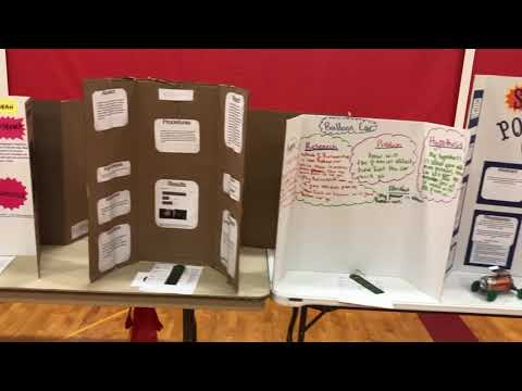 Bookcliff Middle School Science Fair 2018