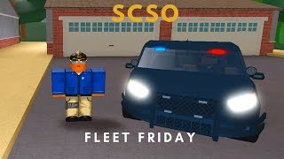 ROBLOX | Firestone Fleet Friday (SCSO GHOST UNIT)