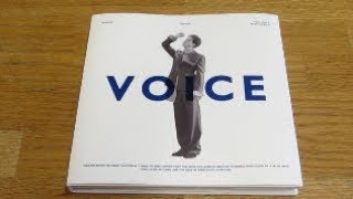 (Unboxing) Onew 1st Mini Album VOICE (White ver)