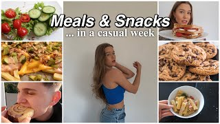 What I eat in a week - food inspo 🥗 (healthy & unhealthy lol) -annso