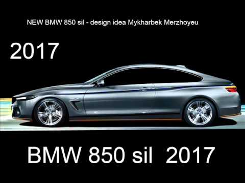 NEW BMW 850 sil 2017 - YouTube