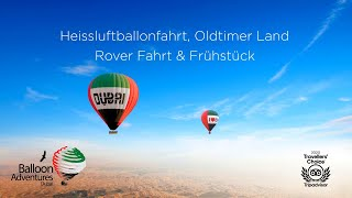 Heissluftballonfahrt, Oldtimer Land Rover Fahrt & ...