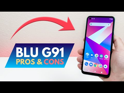 BLU G91 - Pros and Cons! (New for 2021)