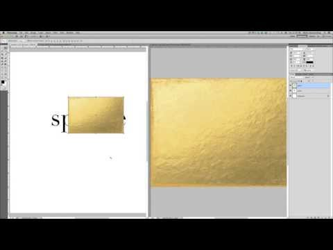 Creating Gold Foil Text In Photoshop