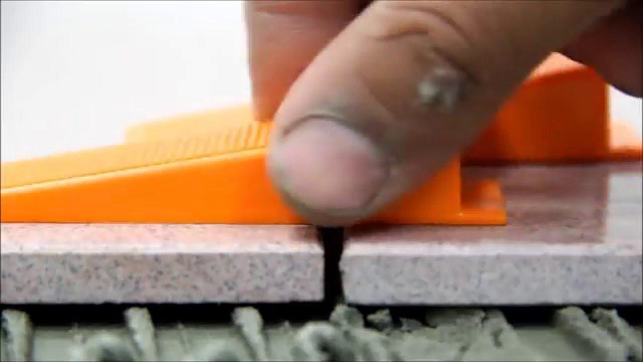 BALLSHOP 100 Stk Fliesen Nivelliersystem mit Schraubenschl/üssel Wiederverwendbar Verlegehilfe Set f/ür Bodenbelag Wand Fliesen