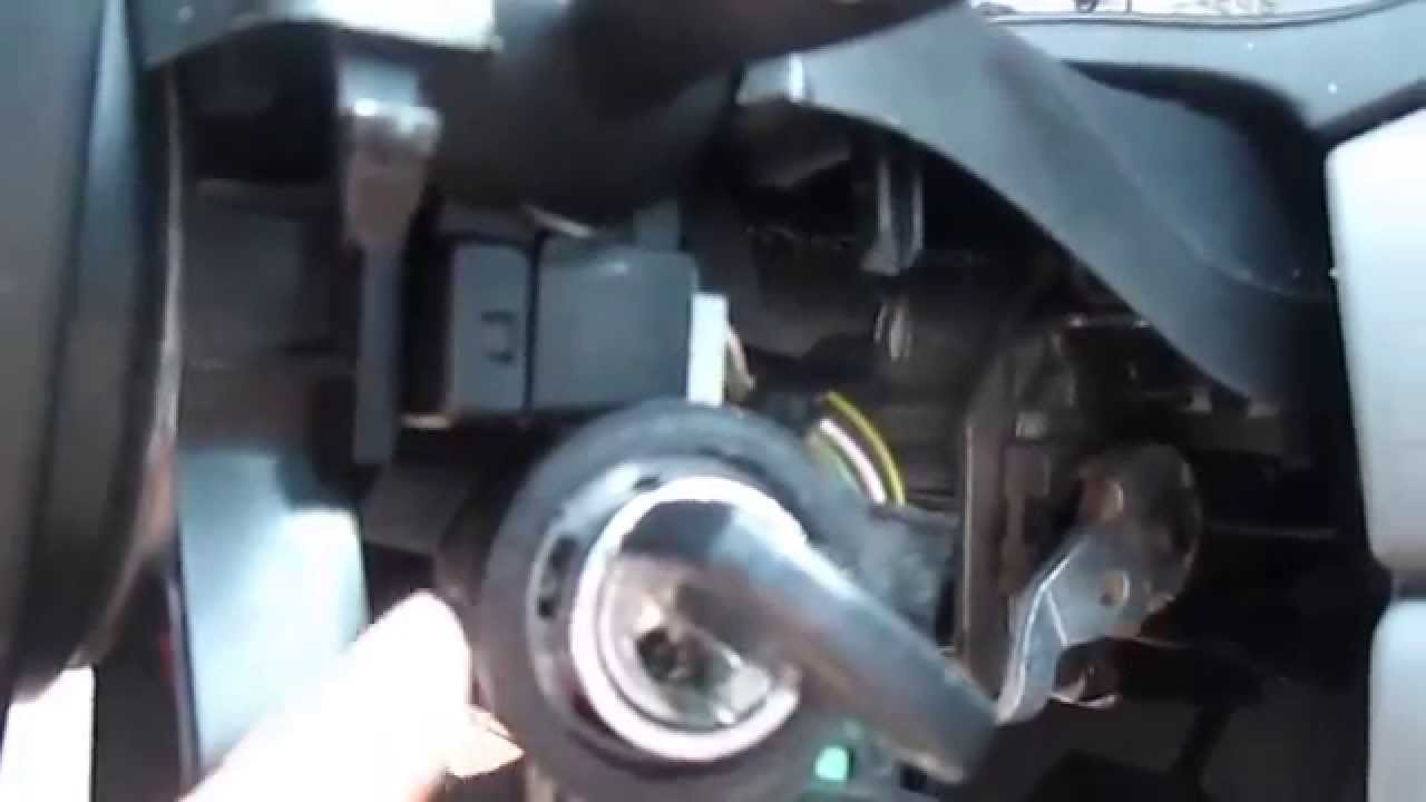 Ignition Cylinder DrillingReplacement 2003 Ford Focus  YouTube