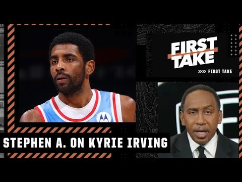Stephen A. reacts to reports that Kyrie wants to be the 'voice for the voiceless' | First Take