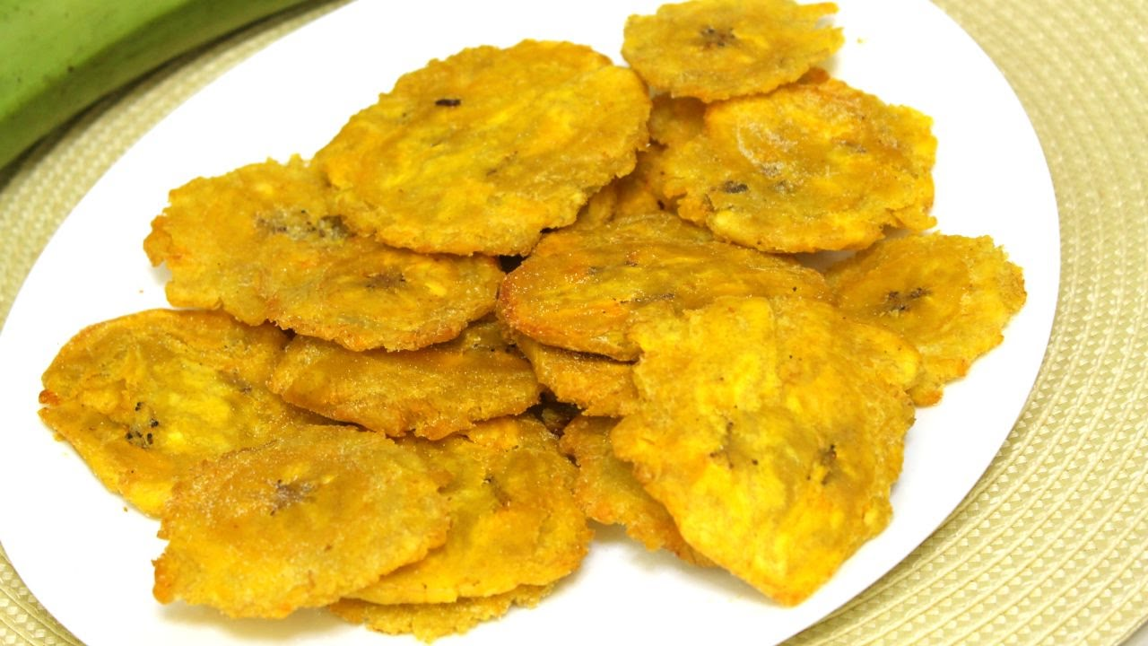 Fried Plantains Recipe Como Hacer Tostones Episode 102 Youtube