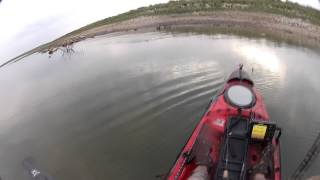hot july kayak fishing on oh ivie kayak bass fishing