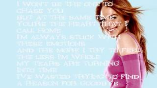 Lindsay Lohan - Over - Lyrics