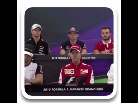 MAD Max Verstappen Serious As ever in  post race conference Japan about No to Swap with Sainz