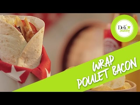 recette-wrap-poulet-bacon