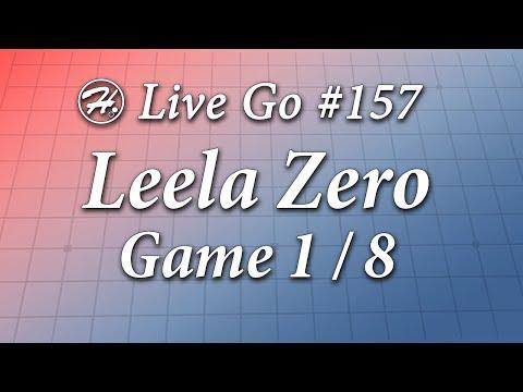 Leela Zero Match (Game 1/8) - Haylee's Live Go 157