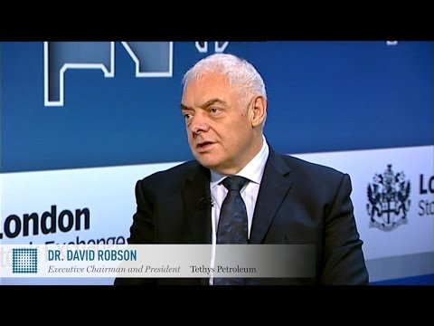 David Robson on oil in Uzbekistan | Tethys Petroleum | World Finance Videos