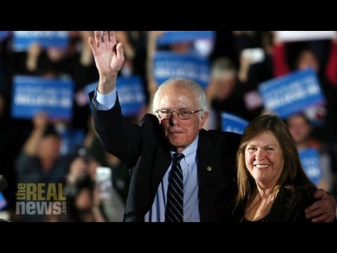 Sanders Supporters Celebrate Sweeping Success