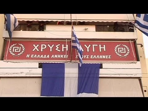 Golden Dawn protests on the streets of Athens over arrest of party's leader