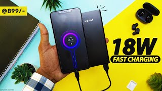URBN 10000mAh Power Bank Unboxing amp Review Hindi 18W Quick Charge 3 0 Power Delivery 3 0