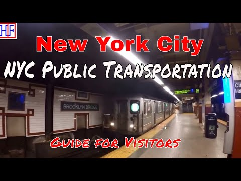 New York City | Public Transportation | Tourist Information | Episode# 2