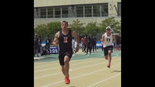 Illini T&F: Practice Day at NCAA West Prelims
