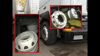 Есть вопрос-порошковая покраска дисков на грузовике,что это?!Надежно ли?Как смотрится?Здесь ответ!!!
