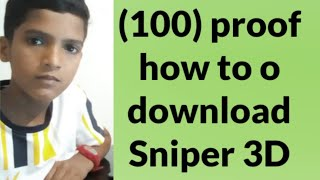 (100%)proof how to download Sniper 3D cameon play watch full