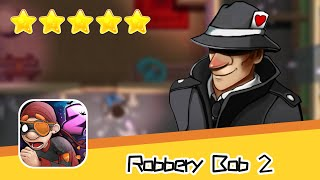 Robbery Bob 2 Hauntington 02 Walkthrough Secret Mission Recommend index five stars