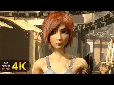 "CGI 3D Animated Short Film 4K: ""Sintel"""