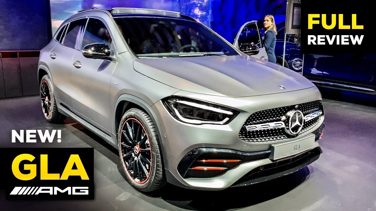 2021 mercedes gla 250 amg new full review world premiere interior exterior mbux 4matic