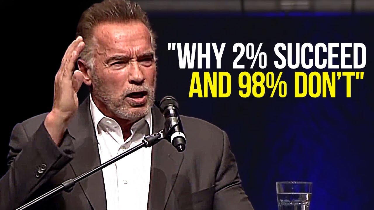 Arnold Schwarzenegger Leaves the Audience SPEECHLESS | One of the Best Motivational Speeches Ever