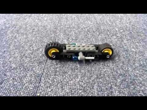 Lego Batman Batbike Animated Build Youtube