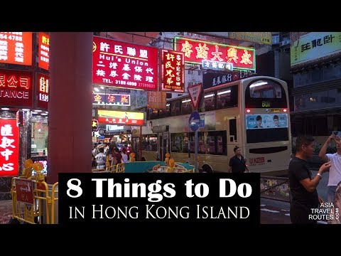 8 Things to Do in Hong Kong Island