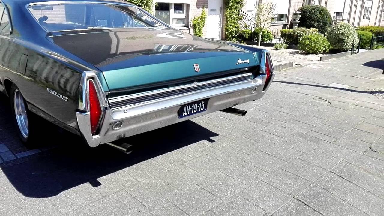 Mercury monterey 1967 390 v8 sound