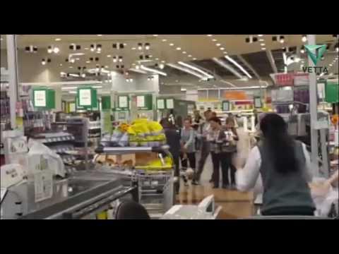 В Перми во время ливня затопило гипермаркет «Семья»