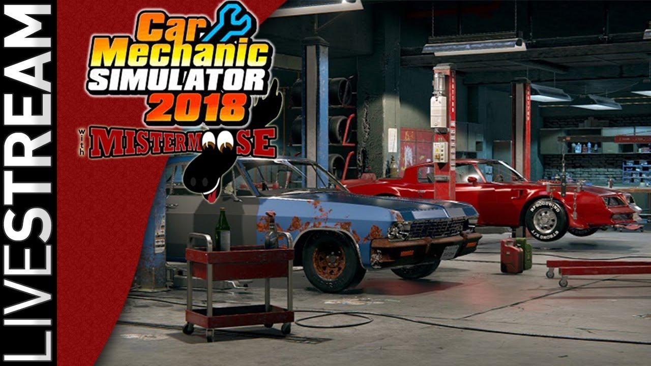 Car Mechanic Simulator 2018 | 29000 Sub Appreciation Stream 8/24