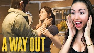 WE BROKE OUT OF PRISON!! (A Way Out)