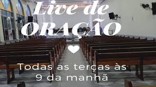 Live de Oração  com o pastor 29/06/21
