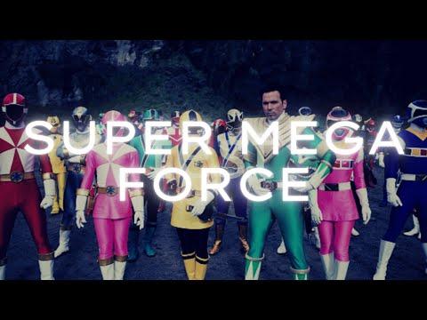 (Super Mega Force) Reunião dos Power Rangers de todas as gerações (Dublado)