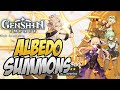 - NO WAY THIS HAPPENED AGAIN? Albedo Summons! Genshin Impact