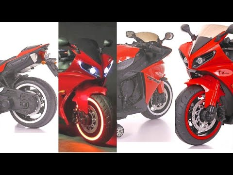 #Unboxing #Toyhouse #KidsBike Toy House Yamaha R1 Rechargeable Battery Operated Ride-on For Kids HD