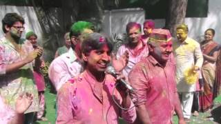 HAPPY HOLI : Some glimpse of Holi celebration with friends & family members at my residence.