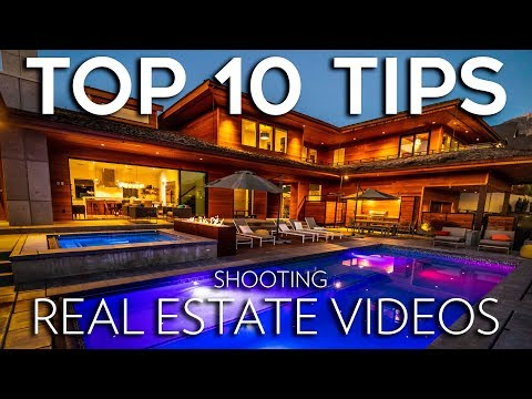 How to Shoot Real Estate Videos | TOP 10 TIPS